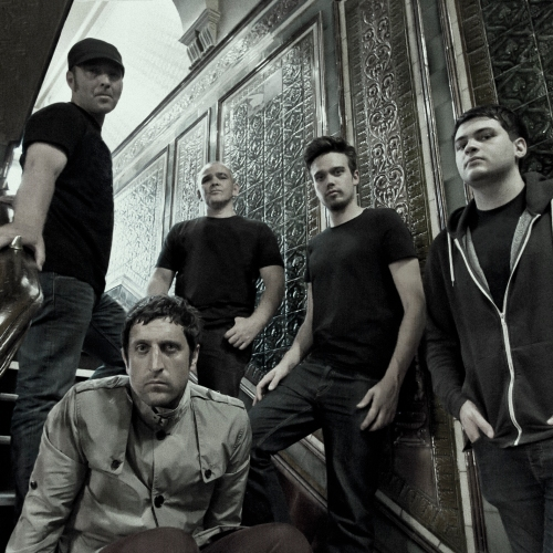 360 B&W Band on Steps